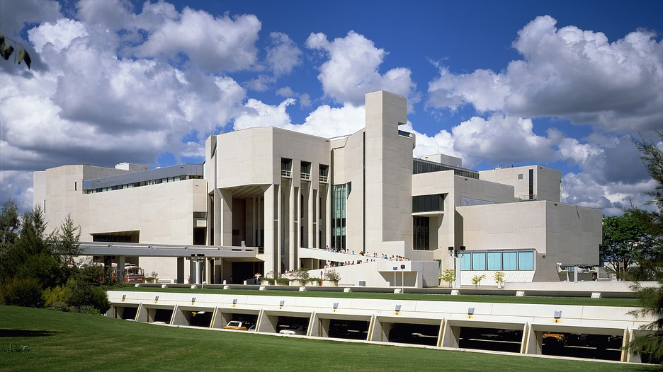 The National Gallery of Australia. This is one of these places you can not miss!